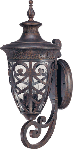 Nuvo Lighting 60/2051 Aston 3 Light 28 inch Dark Plum Bronze Outdoor Wall Lantern