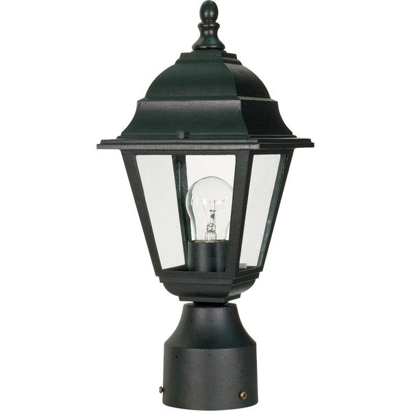 Nuvo Lighting Briton 1 Light 14 inch Textured Black Post Lantern