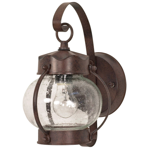 Nuvo Lighting Signature 1 Light 11 inch Old Bronze Wall Lantern