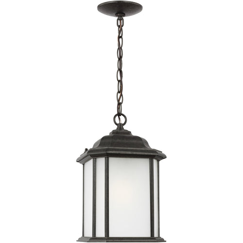 Sea Gull Lighting Kent 1 Light 8 inch Oxford Bronze Outdoor Pendant