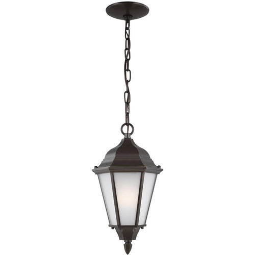 Sea Gull Lighting Bakersville 1 Light 8 inch Heirloom Bronze Outdoor Pendant