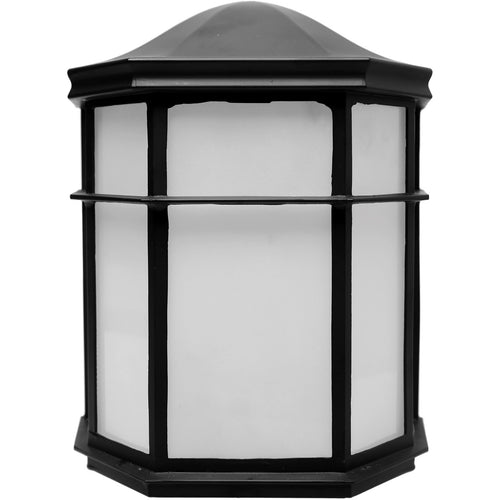 Nuvo Lighting LED Cage Lanterns LED 8 inch Black Outdoor Caged Lantern