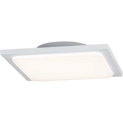 Arnsberg Trave 1 Light 10 inch White Outdoor Flush Mount
