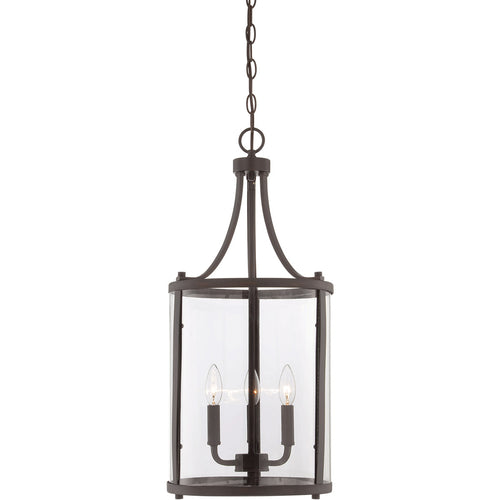 Savoy House Lighting Penrose 3 Light 12 inch English Bronze Lantern Small