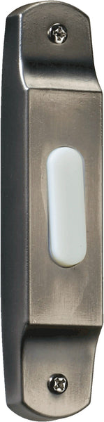 Quorum International Lighting Accessory Antique Silver Basic Narrow Doorbell