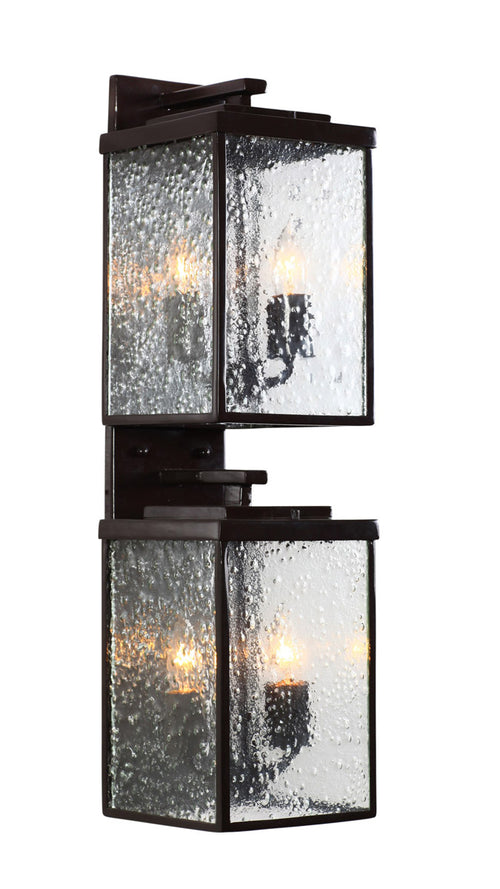 Varaluz 704KL04GB Mission You 4 Light 26 inch Glossy Bronze Outdoor Wall