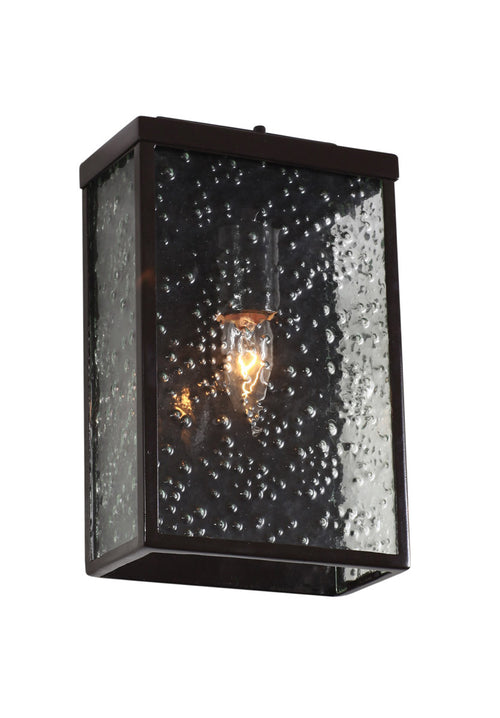 Varaluz 704S01GB Mission You 1 Light 11 inch Glossy Bronze Outdoor Wall