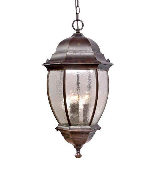 Mariana Imports 813237 Signature 3 Light 25 inch Heritage Bronze Outdoor Hanging Lantern
