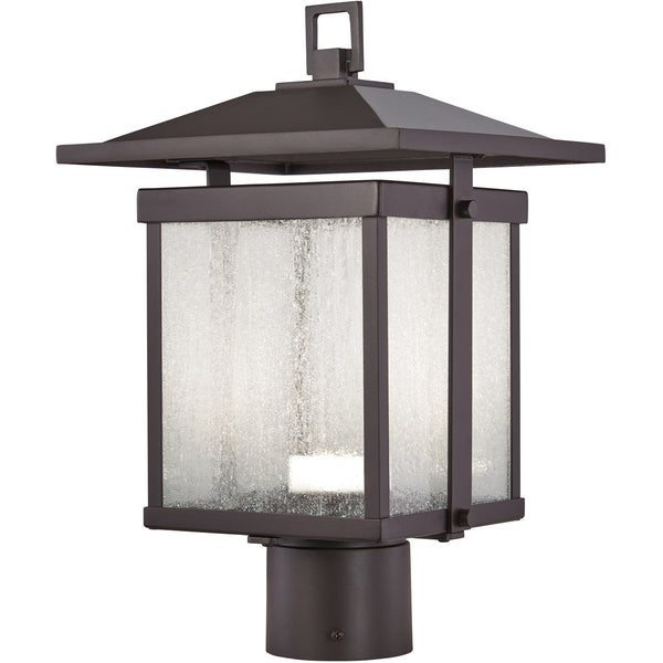 Minka-Lavery Hillsdale LED 15 inch Dorian Bronze Outdoor Post Mount Lantern The Great Outdoors