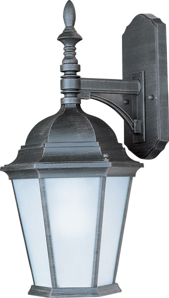 Maxim Lighting 85104RP Westlake Energy Efficient 1 Light 19 inch Rust Patina Outdoor Wall Mount