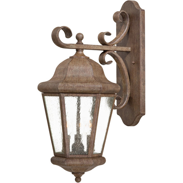 Minka-Lavery 8613-A61 Taylor Court 3 Light 23 inch Vintage Rust Outdoor Wall Lantern The Great Outdoors