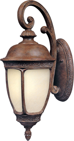 Maxim Lighting 86464SFSE Knob Hill Energy Efficient 1 Light 20 inch Sienna Outdoor Wall Mount