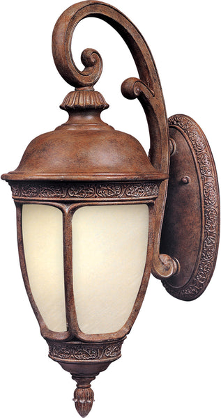 Maxim Lighting 86465SFSE Knob Hill Energy Efficient 1 Light 25 inch Sienna Outdoor Wall Mount