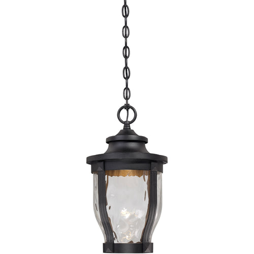 Minka-Lavery Merrimack LED 10 inch Black Outdoor Pendant The Great Outdoors 8764-66-L - Open Box