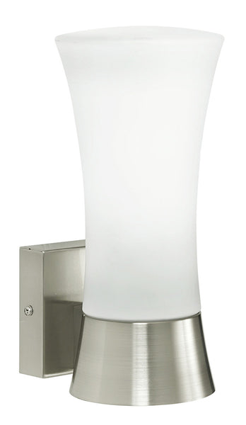 Eglo Lighting 88725A Wall Street 1 Light 11 inch Stainless Steel Outdoor Wall Light