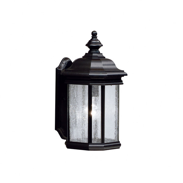 Kichler R-9029BK Kirkwood 1 Light 17 inch Black Outdoor Wall Lantern 9029BK - Open Box