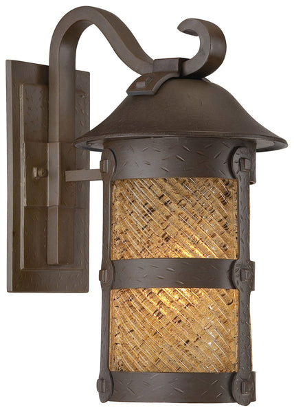 Minka-Lavery 9252-A199-PL Lander Heights 1 Light 17 inch Forged Bronze Outdoor Wall Mount