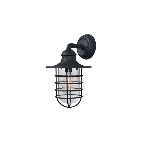 Kenroy Lighting Eli 1 Light 19 inch Black Outdoor Lantern Large