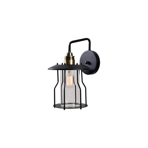Kenroy Lighting Trevor 1 Light 14 inch Bronze Outdoor Lantern Large