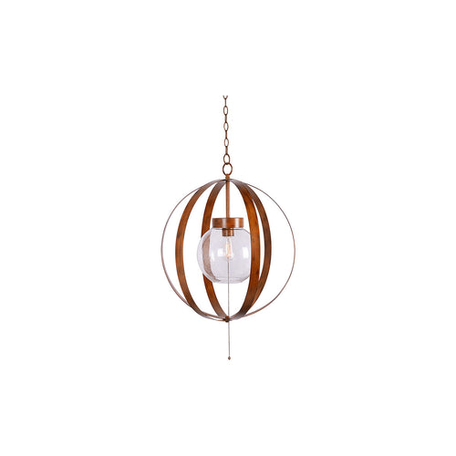 Kenroy Lighting Olivia 1 Light 25 inch Outdoor Pendant