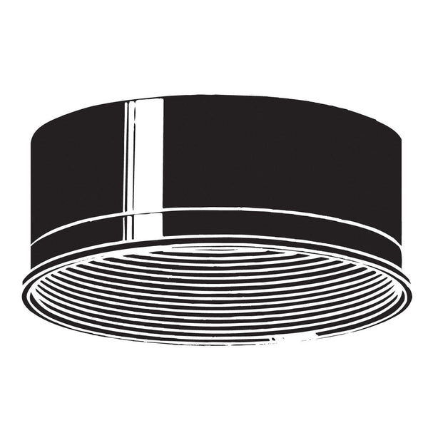 Kichler Lighting 9546BK Baffle Black Outdoor Accessory