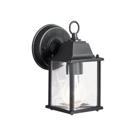 Decovio Hunter LED 10 inch Black Outdoor Wall Sconce