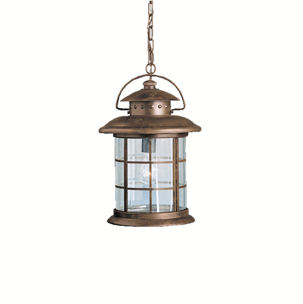 Kichler Lighting Rustic 1 Light 11 inch Rustic Outdoor Pendant