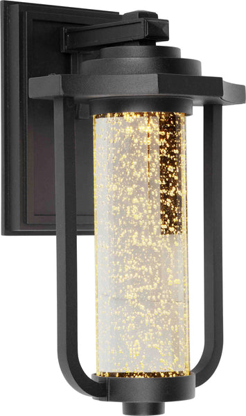Artcraft Lighting AC9012BK North Star LED 14 inch Black Outdoor Wall Sconce
