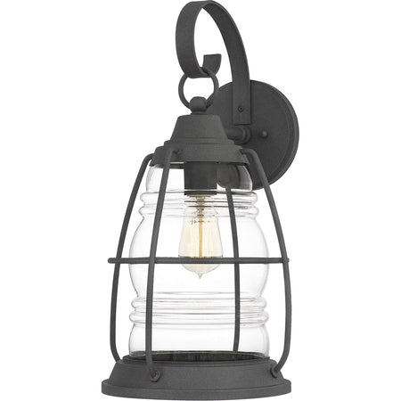 Quoizel Sandoval 1 Light 18 inch Western Bronze Outdoor Wall Lantern