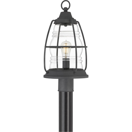 Quoizel Rue De Royal 1 Light 21 inch Industrial Bronze Outdoor Wall Lantern