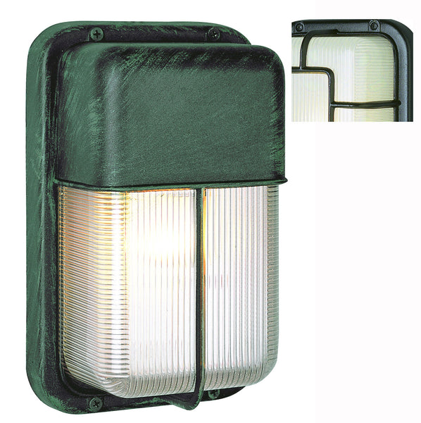 Trans Globe Lighting Signature Black Outdoor Bulkhead