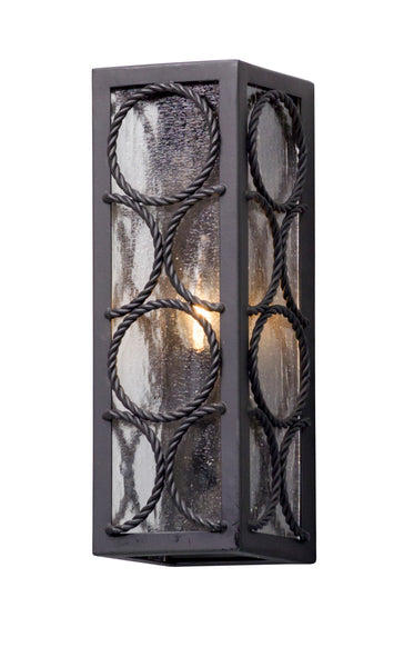 Troy-CSL Lighting B5221 Bacchus 1 Light 14 inch Textured Bronze Outdoor Wall Light