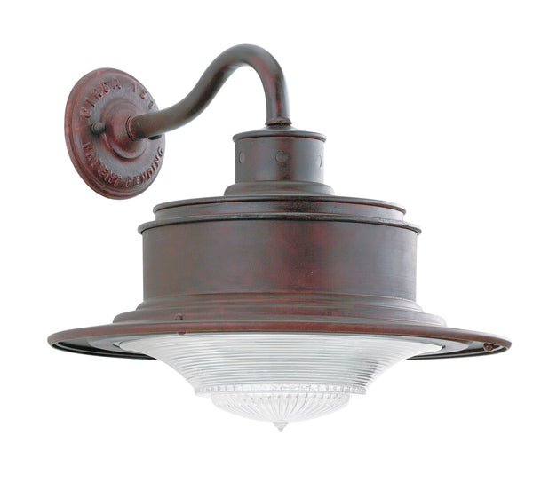 Troy-CSL Lighting B9391OR South Street 1 Light 12 inch Old Rust Outdoor Wall Downlight