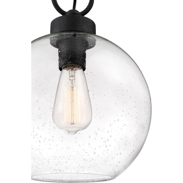 Quoizel Barre 1 Light 10 inch Grey Ash Outdoor Hanging Lantern