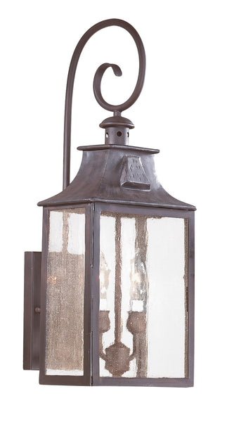 Troy-CSL Lighting Newton 2 Light 23 inch Old Bronze Outdoor Wall Lantern in Incandescent