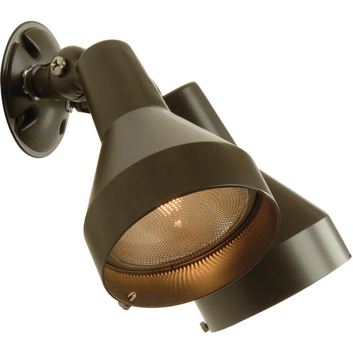 Craftmade BF-2BZ Signature 2 Light 10 inch Bronze Outdoor Flood Light Dual Head