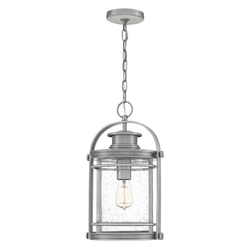 Quoizel Booker 1 Light 11 inch Industrial Aluminum Outdoor Hanging Lantern