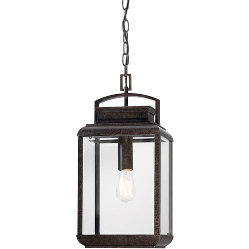 Quoizel BRN1910IB Byron 1 Light 10 inch Imperial Bronze Outdoor Hanging Lantern