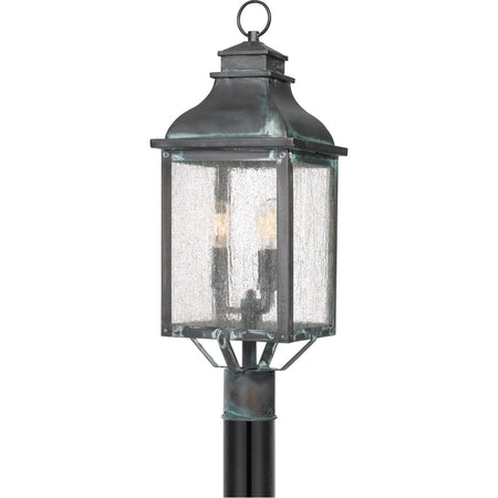 Quoizel DTR8405CCG District LED 5 inch Concrete Grey Outdoor Wall Lantern
