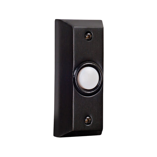Craftmade BS8-BZ Signature Bronze Lighted Push Button Rectangle