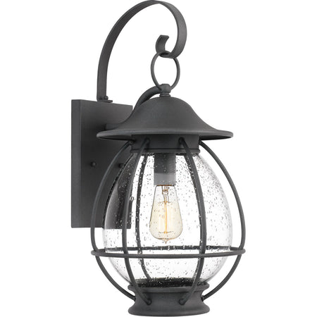 Quoizel BRS9009AGV Branson 3 Light 25 inch Aged Verde Outdoor Post Lantern