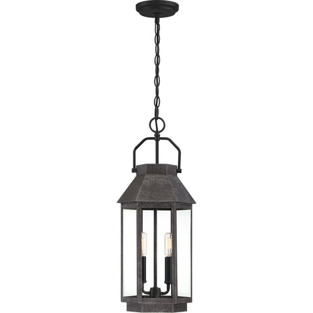 Quoizel Rue De Royal 4 Light 30 inch Industrial Bronze Outdoor Wall Lantern