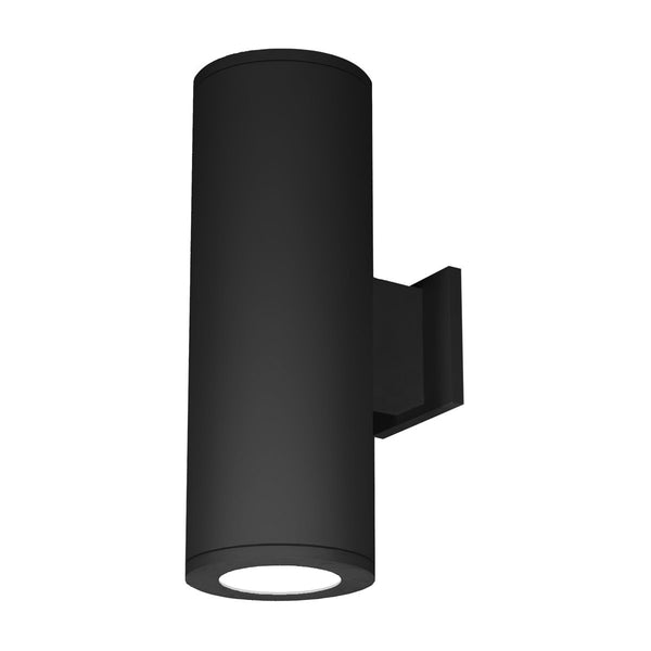 WAC Lighting DS-WD08-S927S-BK Tube Architectural LED 22 inch Black Outdoor Wall Sconce