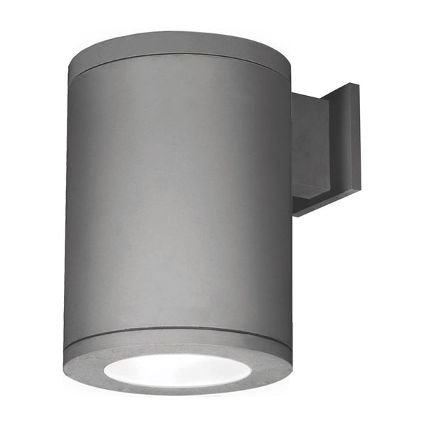 WAC Lighting DS-WS08-S927S-GH Tube Architectural LED 12 inch Graphite Outdoor Wall Sconce