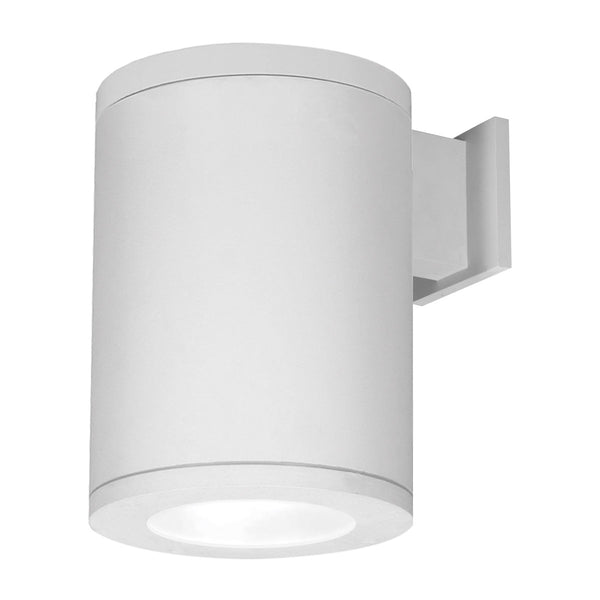 WAC Lighting DS-WS08-S30S-WT Tube Architectural LED 12 inch White Outdoor Wall Sconce