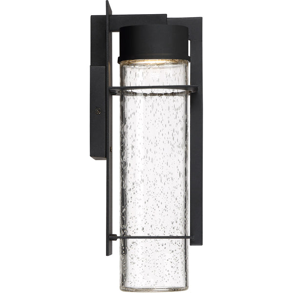 Quoizel Eames LED 14 inch Earth Black Outdoor Wall Lantern