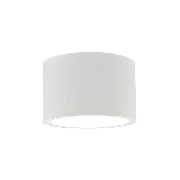 Kuzco Lighting Lamar 8 inch White Outdoor Flush Mount