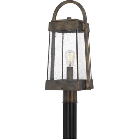 Livex Nyack 3 Light 20 inch Brushed Nickel Outdoor Post Top Lantern