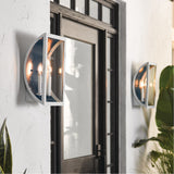 Kichler Lighting Narelle 3 Light 17 inch White Outdoor Wall Light