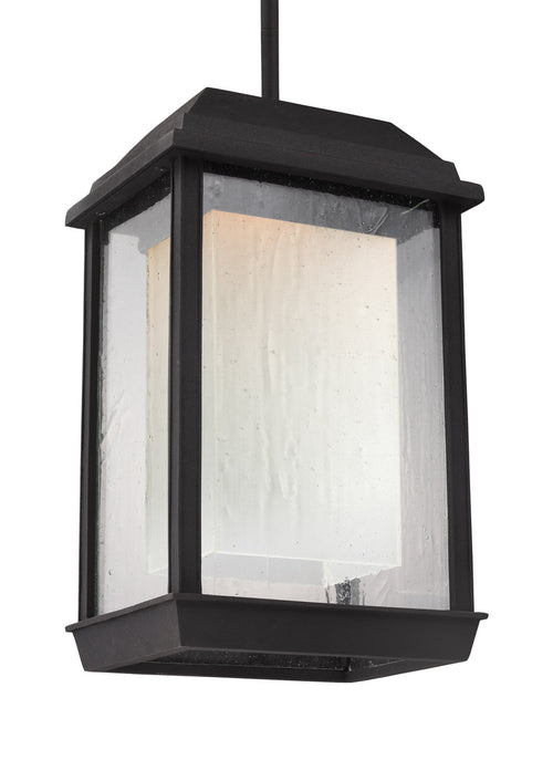 Feiss OL12809TXB-LED McHenry LED 8 inch Textured Black Outdoor Pendant